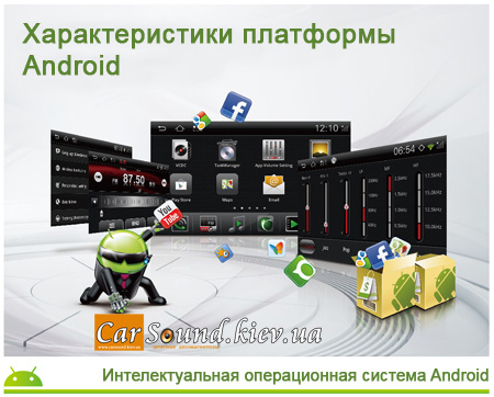 Штатная магнитола Winca S150 Android (RoadNav S150) - www.CarSound.kiev.ua